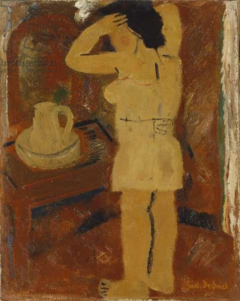 La Toilette - Opschik, 1935 (oil on canvas)
