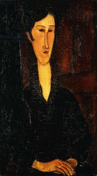Portrait of Madam Zborowska; Ritratto di Mne Zborowska, 1917 (oil on canvas)