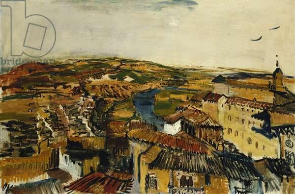 Toledo, 1925 (oil on canvas)