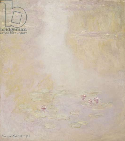 Water Lilies, Giverny, 1908 (oil on canvas)