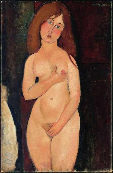 Venus or Standing Nude or Nude Medici; Venus (Nu debout, nu medicis), 1917 (oil on canvas)