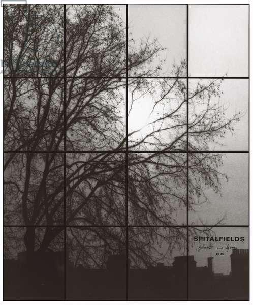 Spitalfields, 1980 (sixteen framed black and white photographs)