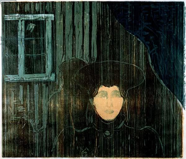 Moonshine (woodcut)
