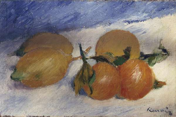Still Life with Lemons and Oranges, 1881 (oil on canvas)