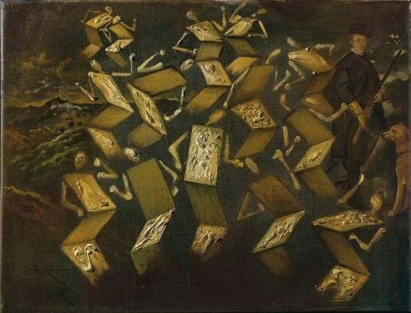Twist Dans le Studio de Velazquez, 1962 (oil on canvas)