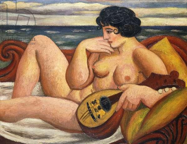 The Sonata, 1934 (oil on canvas)