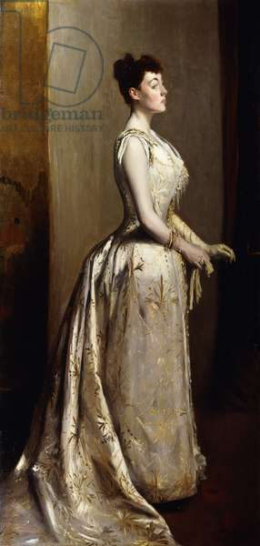 Portrait of a Lady, 1889 (oil on canvas)