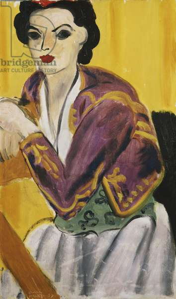 Violet Bolero; Bolero Violet, 1937 (oil on canvas)