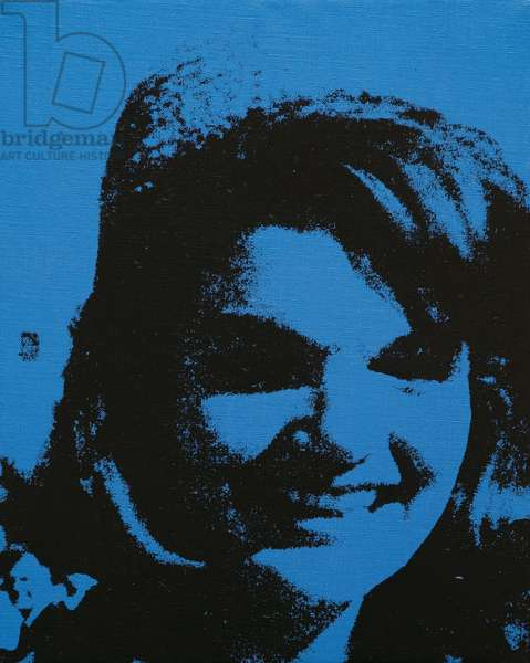 Jackie, 1964 (acrylic and silkscreen ink on canvas)