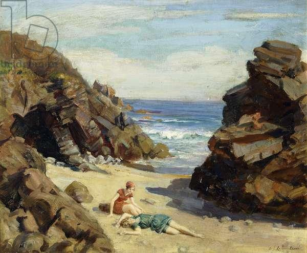 Summertime, (oil on canvas)