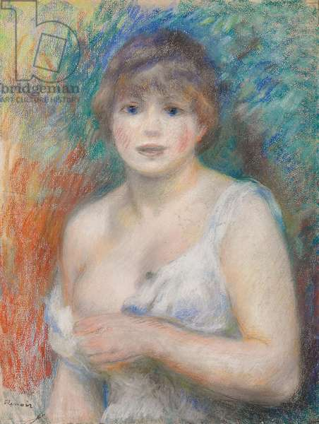 Portrait of Jeanne Samary, c.1879-1880 (pastel on paper)