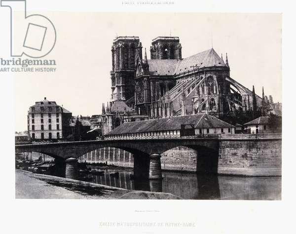 Church of Notre-Dame, XII century, c.1852 (salt print)