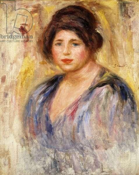 Portrait of a Woman; Portrait de Femme, c.1912 (oil on canvas)