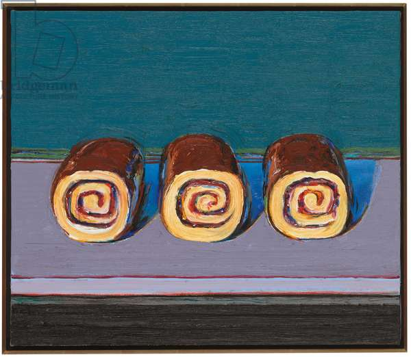Jelly Rolls (for Morton), 2008 (oil on canvas)