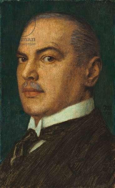 A Self-portrait, 1923 (oil on board)