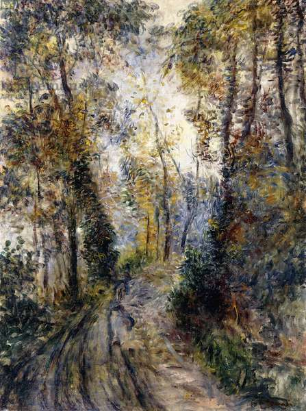 The Forest Path, 1871 (oil on canvas)