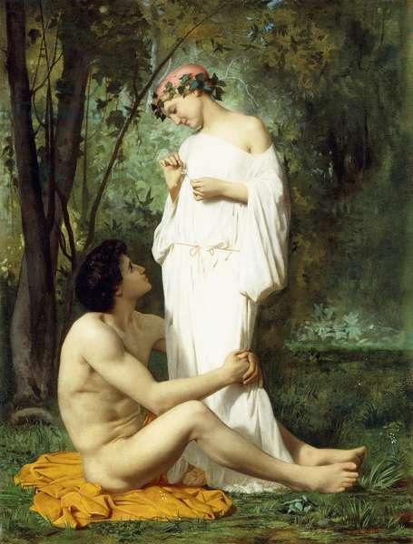 Idyll, 1851-52 (oil on canvas)