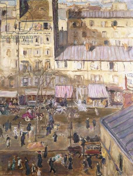 Le Boulevard  Exterieur: Boulevard de Clichy et Angle de la rue de Douai, c.1904 (oil on canvas)