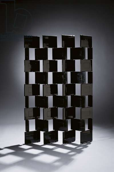'Brick' screen, 1923-25 (lacquered wood)