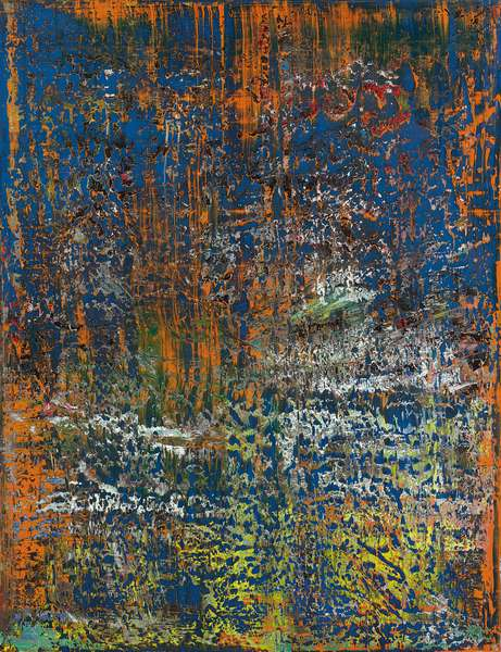 Abstract Painting (710), 1989 (oil on canvas)