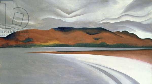 Lake George, 1923 (oil on canvas)
