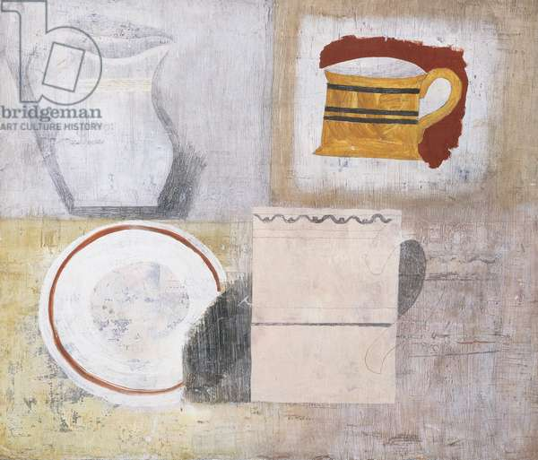 1930 (still life with jug and mugs)