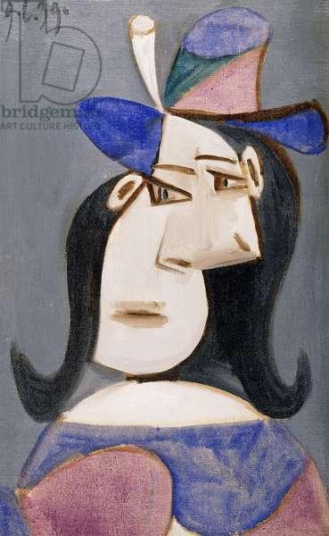 Head of a Woman; Tete de Femme, 1939 (oil on canvas)