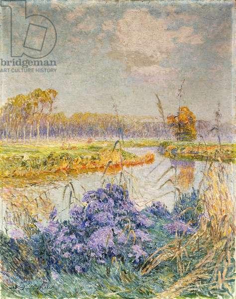 La Lys - De Leie, c. 1902 (oil on canvas)