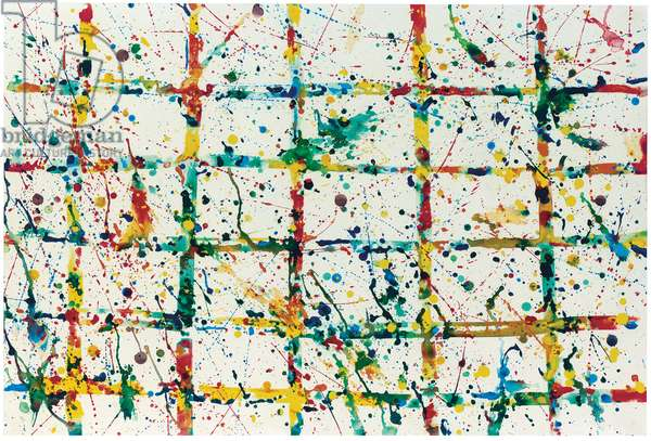 Limb (SF78-095), 1978 (acrylic on paper laid down on board)