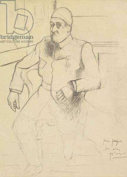 Guillaume Apollinaire, 1916 (pencil on paper)