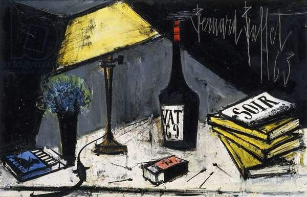Vat 69, 1963 (oil on canvas)