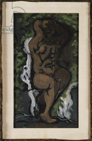 Little Bather (Raised Hands) 1926 (oil on canvas)