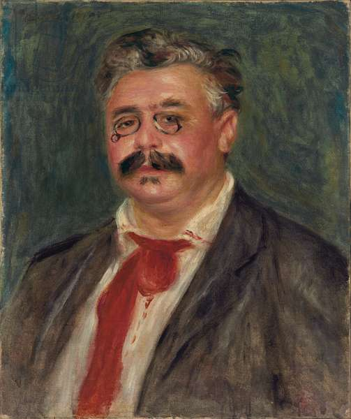 Portrait of Wilhelm Mühlfeld, 1910 (oil on canvas)