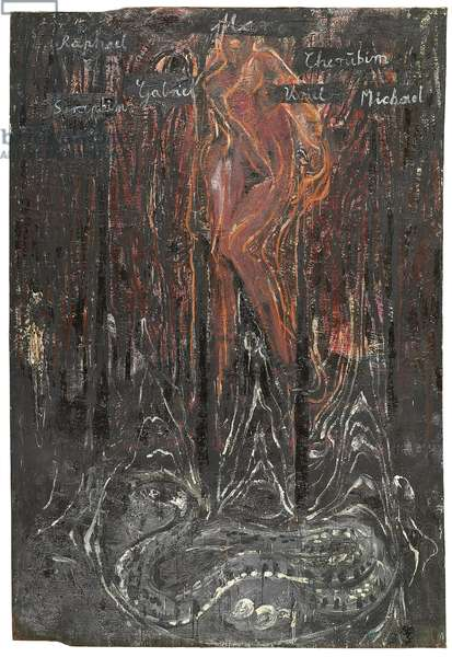 Maria, 1977 (oil on canvas)