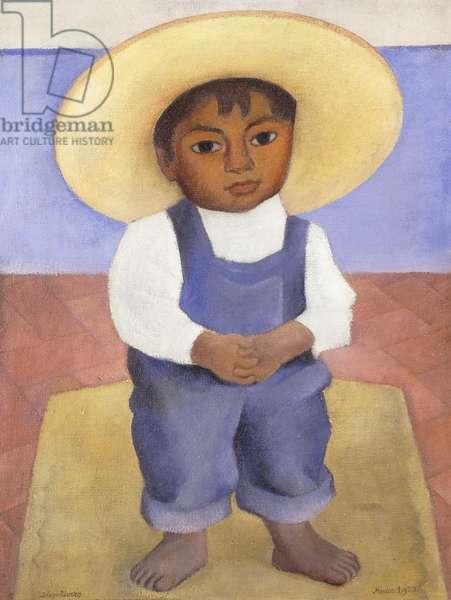 Portriat of Ignacio Sanchez; Retrato de Ignacio Sanchez, 1927 (oil on canvas)