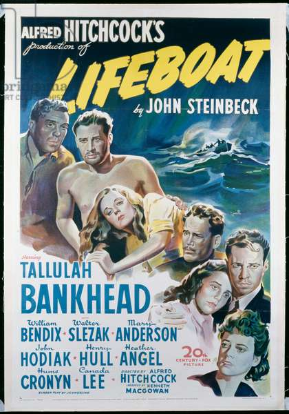 Lifeboat, 1943 (one sheet poster)