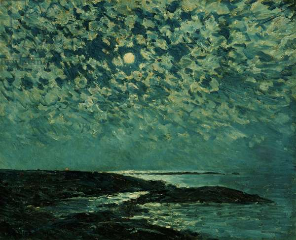 Moonlight, Isle of Shoals, 1892 (oil on canvas)