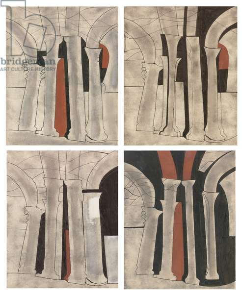 Greek Columns (Variations on a Theme), 1965