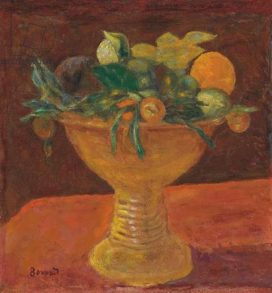 Fruit Bowl with Mandarins; Le compotier de mandarines, 1914 (oil on canvas)