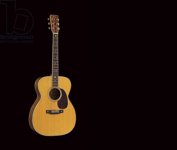 Style OOO-28/'45 Conversion', 1966 (wood with pearl inlay)