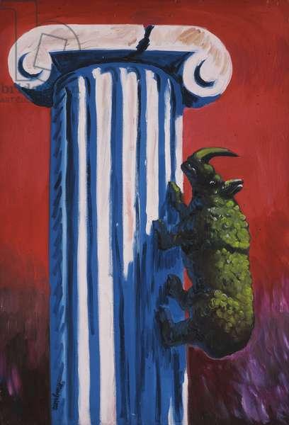 Mountaineer; Le Montagnard, 1948 (oil on canvas)