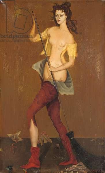 La sorcière, 1935-6 (oil on canvas)