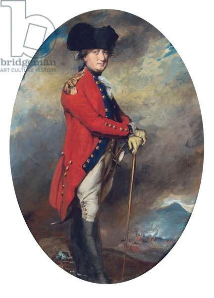 Portrait of Charles, 1st Marquis Cornwallis, 1782 (pencil, pastel & bodycolour on paper)