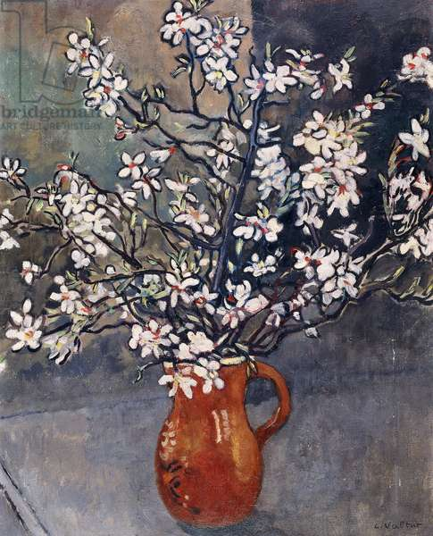 Almond Blossom, c.1925 (oil on canvas)