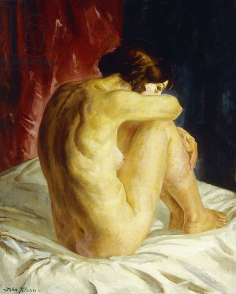 Nude Glancing Back, 1926 (oil on canvas)