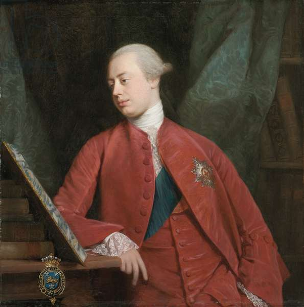 Portrait of Frederick, Lord North K. G., later 2nd Earl of Guildford (oil on canvas)