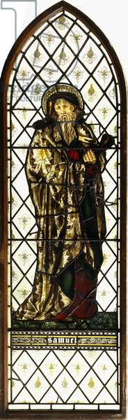 The Prophet Samuel, by Morris & Co, 1868 (stained glass window)