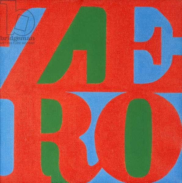 Zero, 1966 (oil on canvas)