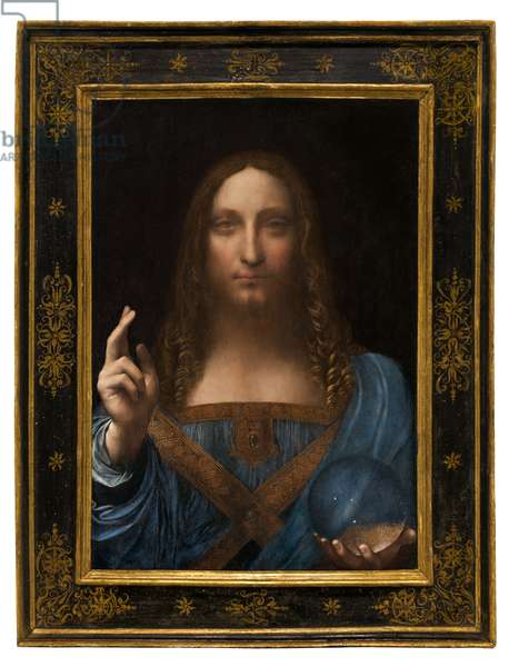 Salvator Mundi, c.1500 (oil on panel)