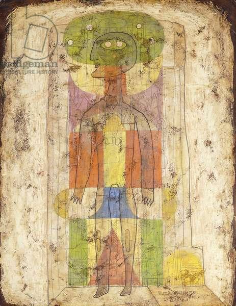 Transmutation Dream; Transmutation Onirique, 1946 (oil and wax on paper)
